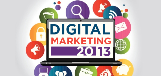 Digital Marketing in 2013 – What Is Hot & Trendy