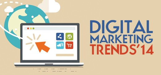 Digital Marketing Trends Likely To Rule the Arena in 2014- Taking a Look