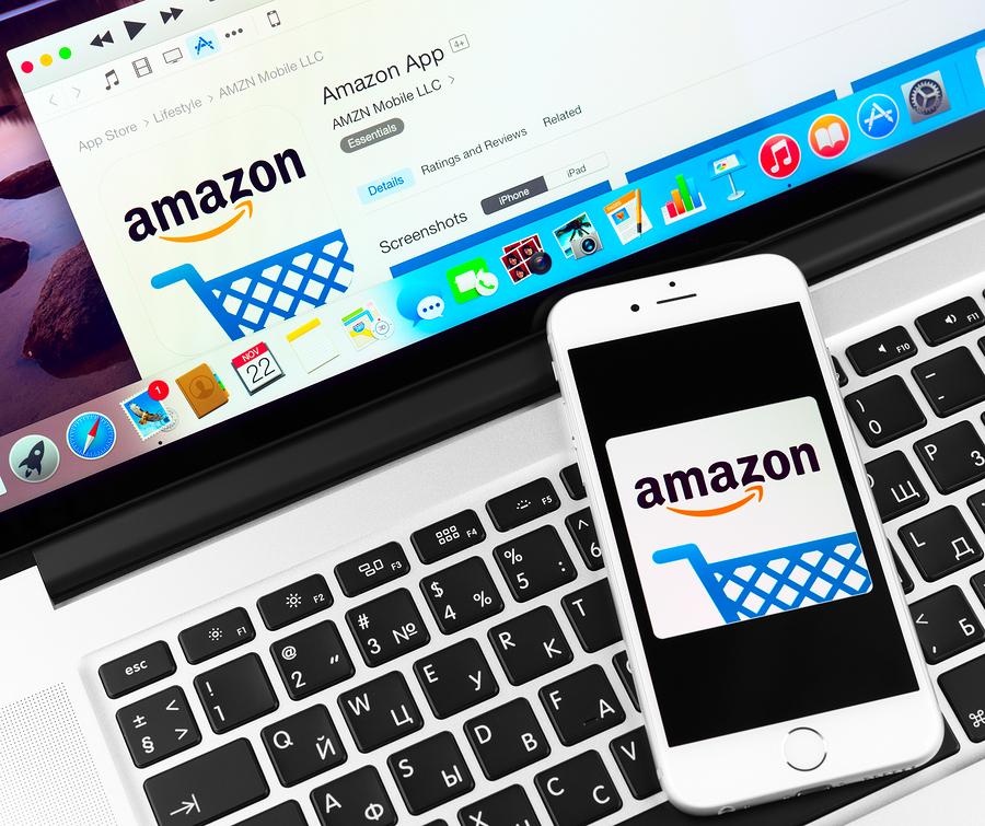 Amazon On Apple Iphone 6 Device Display