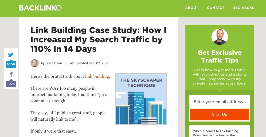 link-building-case-study