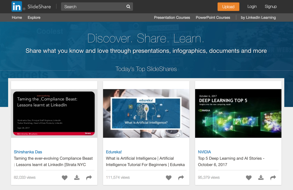 how to create upload and market a slideshare presentation