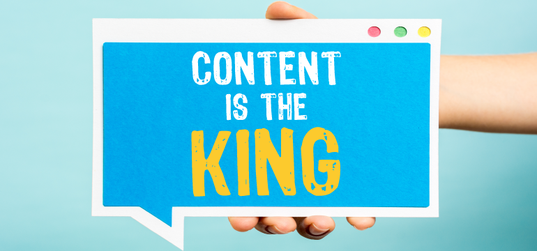 content-is-the-king